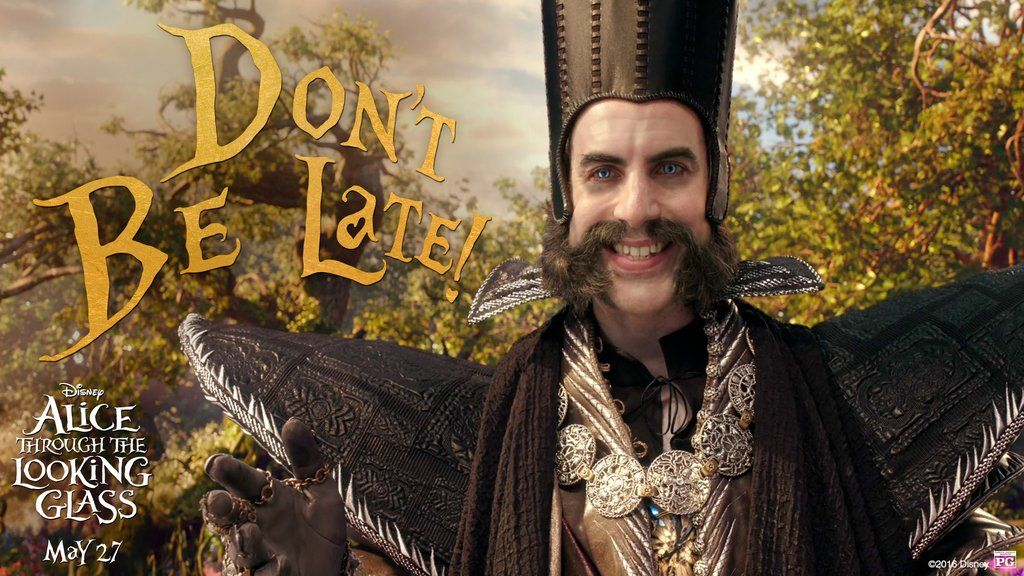 It's Time! Get your tickets to Disney Alice Through The Looking Glass. In theaters TODAY! #DontBeLate