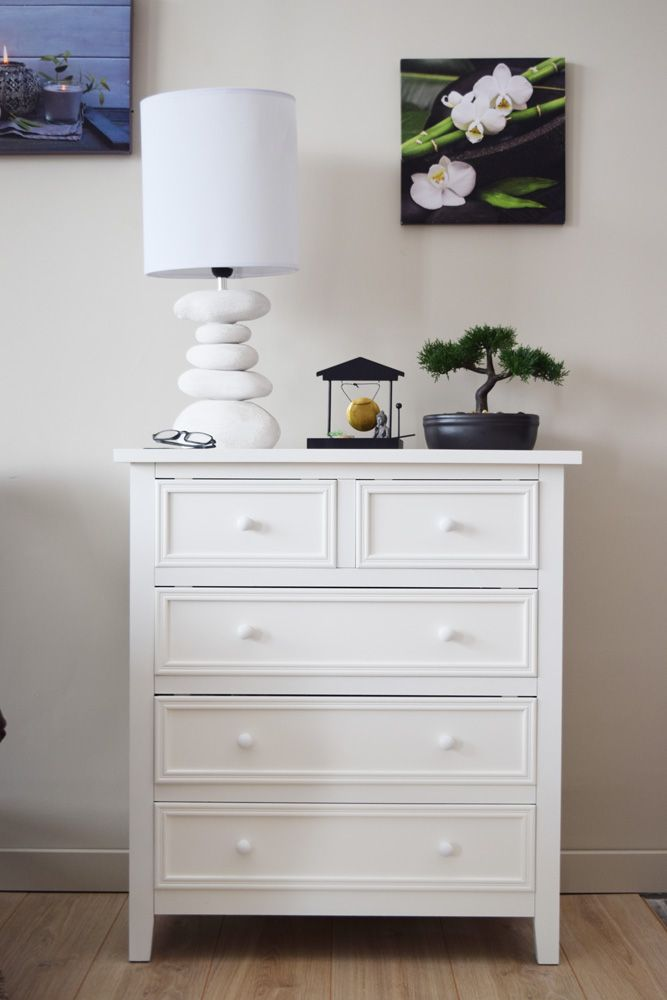 Commode blanche IDÉE DECO Pinterest Salons and Shabby