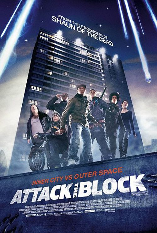 Attack The Block Dias De Cine Carteles De Cine Peliculas Completas En Castellano