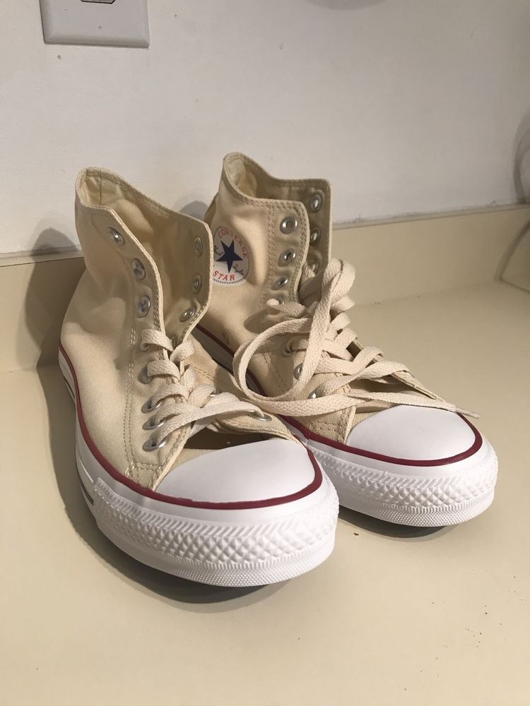 00389db91197 Cream Converse Chuck Taylor Mens Size 9  fashion  clothing  shoes   accessories  unisexclothingshoesaccs  unisexadultshoes (ebay link)