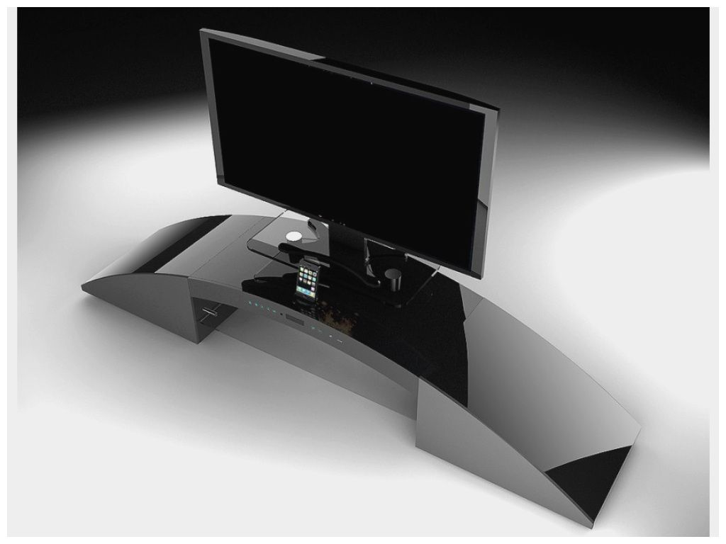 cinema integre inspirant meuble tv