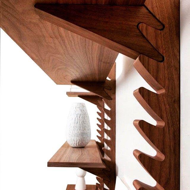mid-century-furniture:  Totem shelving unit by Broberg & Ridderstråle for Klong #woodwork #shelving #totem #brobergnridderstrale #midcenturyinspired