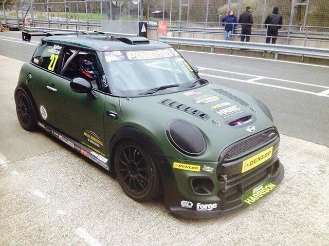 Yes All Minis Are Built For Racing Mini Mini Cooper Custom