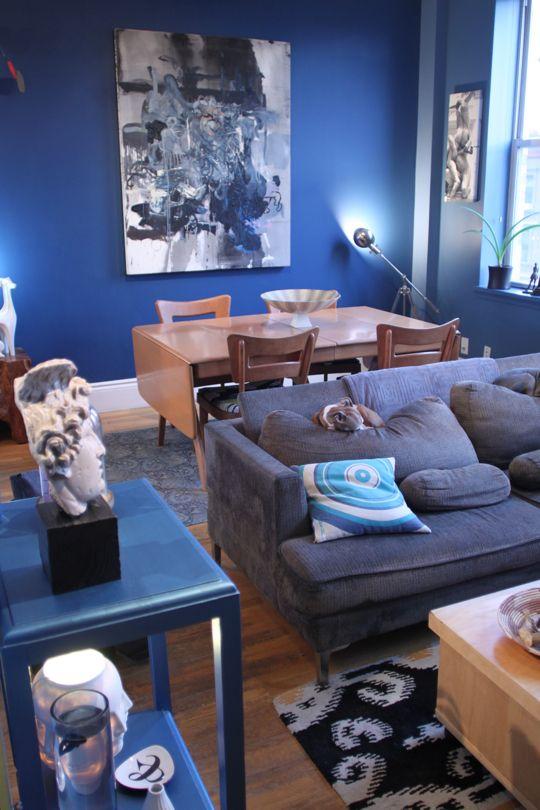 A Men S Apartment In New York Apartment Ideas Manner Wohnung