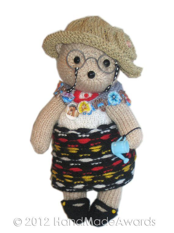Teddy Bear Knitting Patterns Aunt Bears And Knitting
