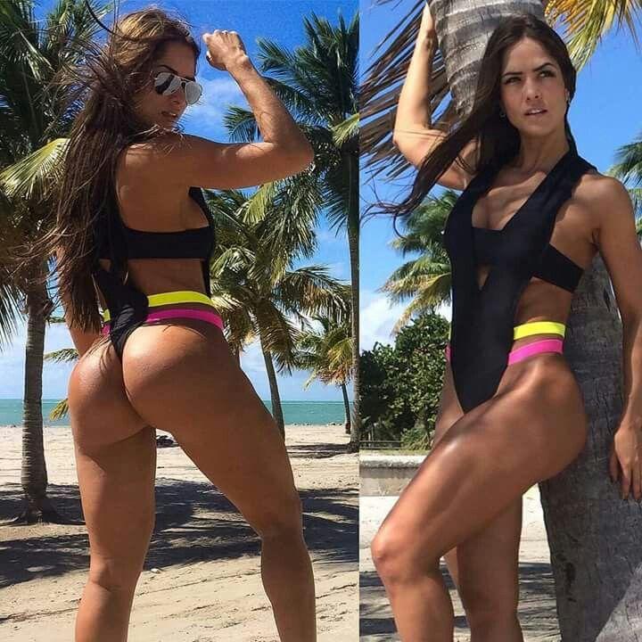 Athletes bikini fitness