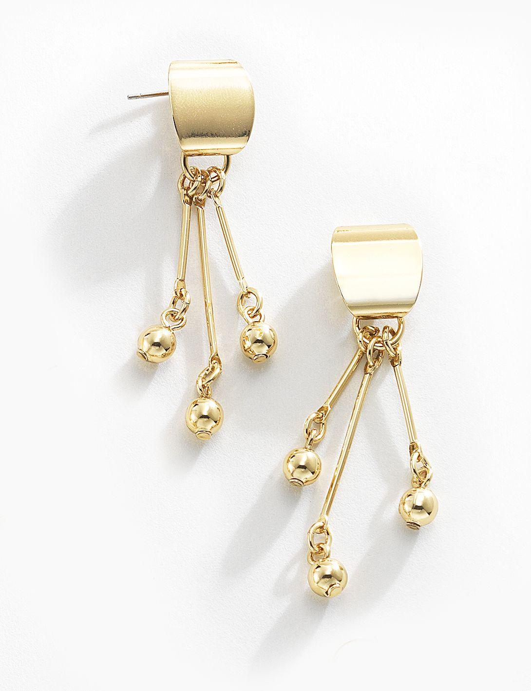 56b1933ad921 Moda Para Mujer · Joyas · Estilo que llama la atención. Estos preciosos  aretes con colgantes