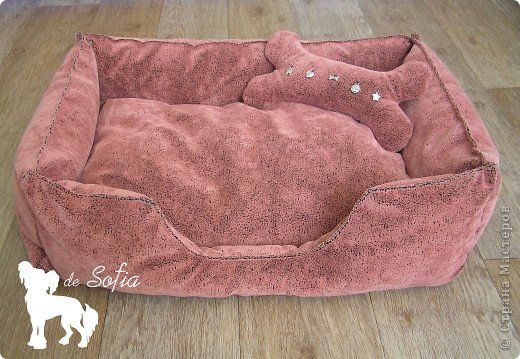 STEP BY STEP AND PATTERN DOG BED