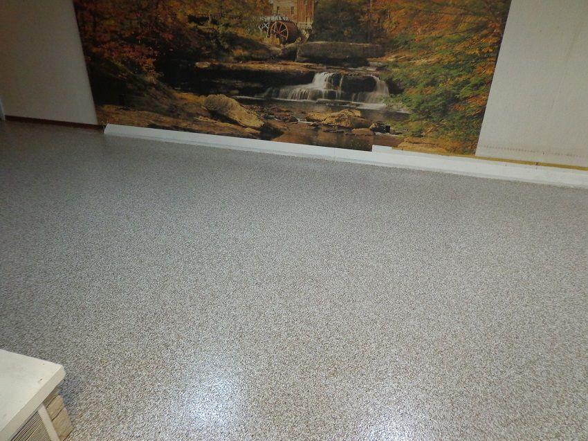 Basement Flooring Epoxy Flake Waterproofing Detroit Mi Basement Flooring Floor Coverings Basement Flooring Waterproof