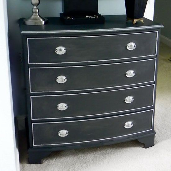 black painted furniture ideas. Black Painted Furniture | Blackboard Paint, DIY Modern Decoration In And White. Ideas E