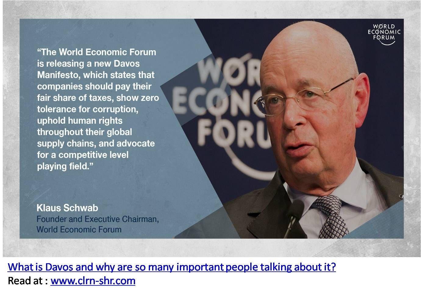 Leadership Klaus Schwab World Economic Forum Leadership