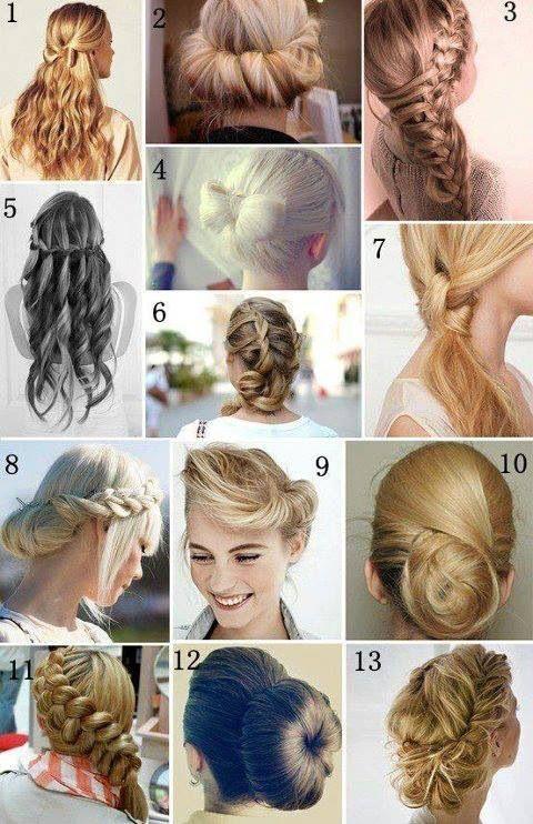 Peinados y trenzas modernas para toda momento Hair Pinterest