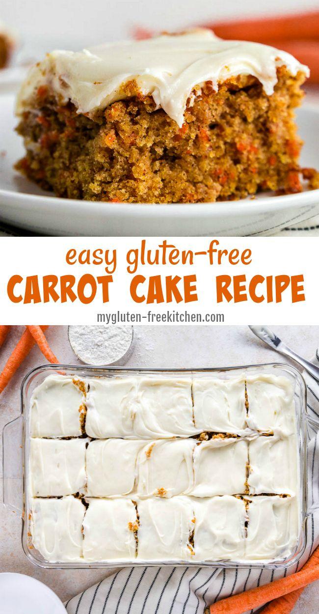 Gluten-free Carrot Cake Recipe #glutenfree