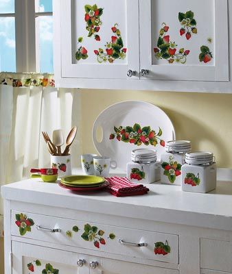 Collections Etc Find Unique Online Gifts At Collectionsetc Com Strawberry Kitchen Decorations Decor