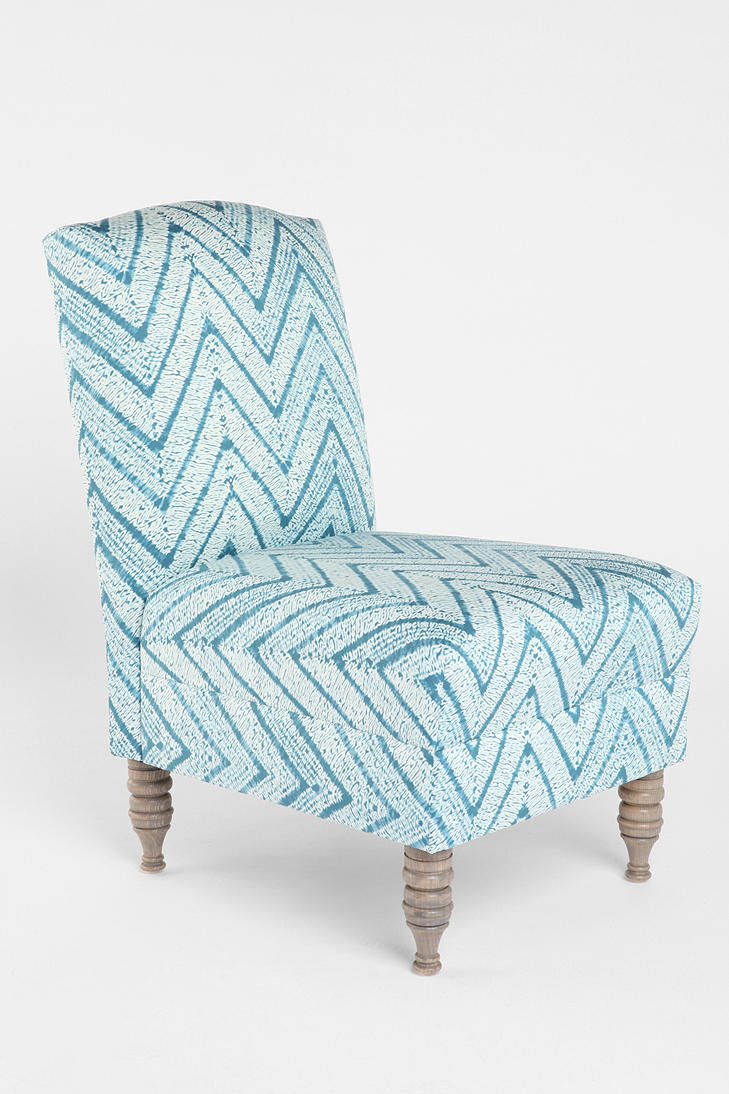 #UrbanOutfitters          #Home and Garden #Furniture                         #tapered #measurements #cushioned #zigzag #content #pillar #slipper #chevron #legs #unique #spot #wooden #clean #space #chair #bold #fun #cotton #piece #complete #side               Chevron Slipper Chair     Overview:* Cushioned side chair topped with a bold zigzag motif* Complete with tapered wooden legs in a pillar design* A fun and unique piece for any space Measurements:* 22l, 30w, 35.5h Content & Care…