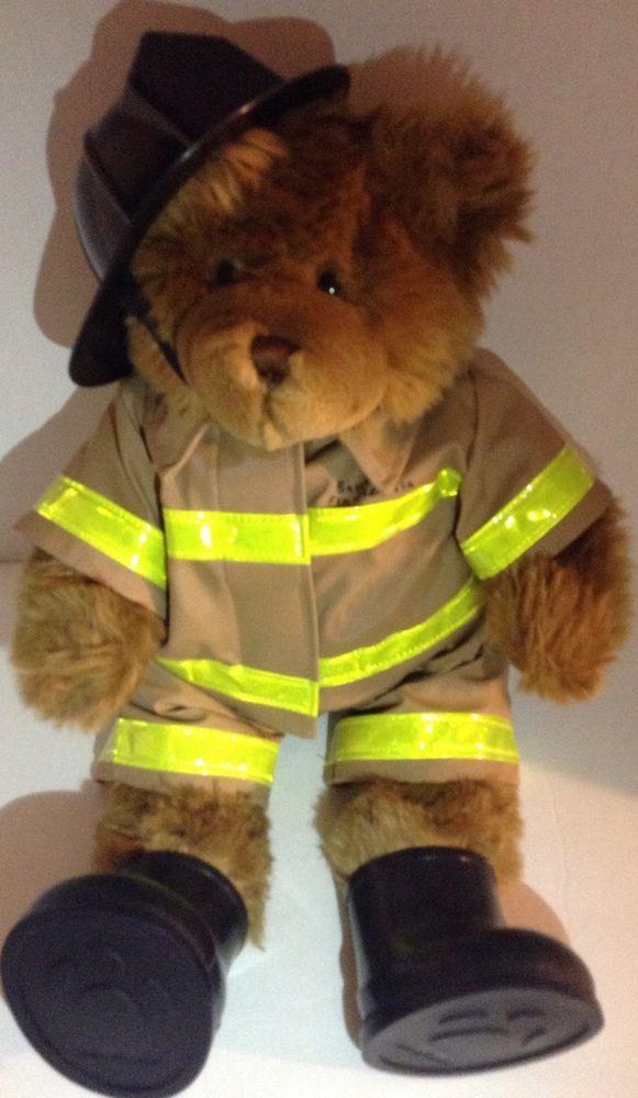 669cdd1d9f6 Build A Bear Workshop Fireman Bear
