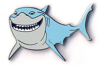 Finding Nemo Coloring · bruce the shark coloring page ...