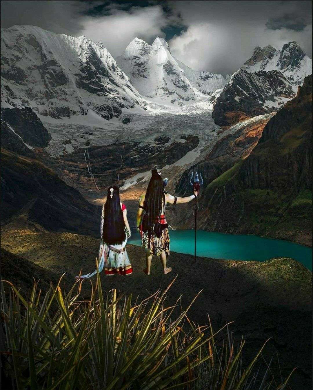 Lord Shiva The Warrior On Mount Kailash In Creative Art Painting Lord Shiva Painting Shiva Photos Lord Shiva