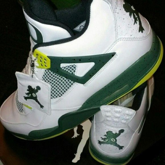 best service 21080 334ac Air Jordan 4 Retro Oregon Ducks Home