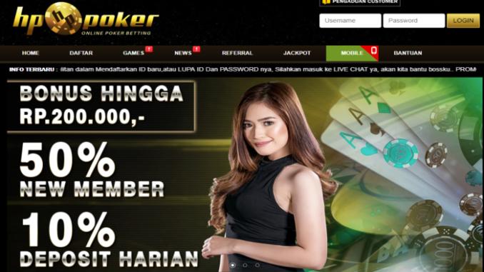 Idn Poker Bonus New Member 50 Hppoker Poker
