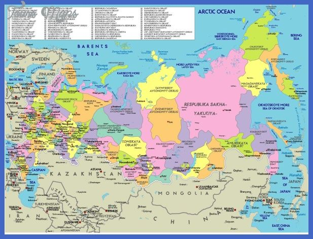awesome Russia Map   Tours Maps   Russia, Russia map, Russian federation
