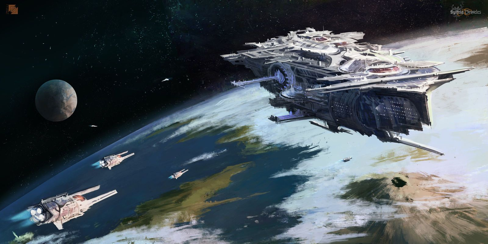 Black themed spaceship conceptual artwork and wallpapers 1 design - Concept Ships Spaceship Concept Art By Florent Llamas