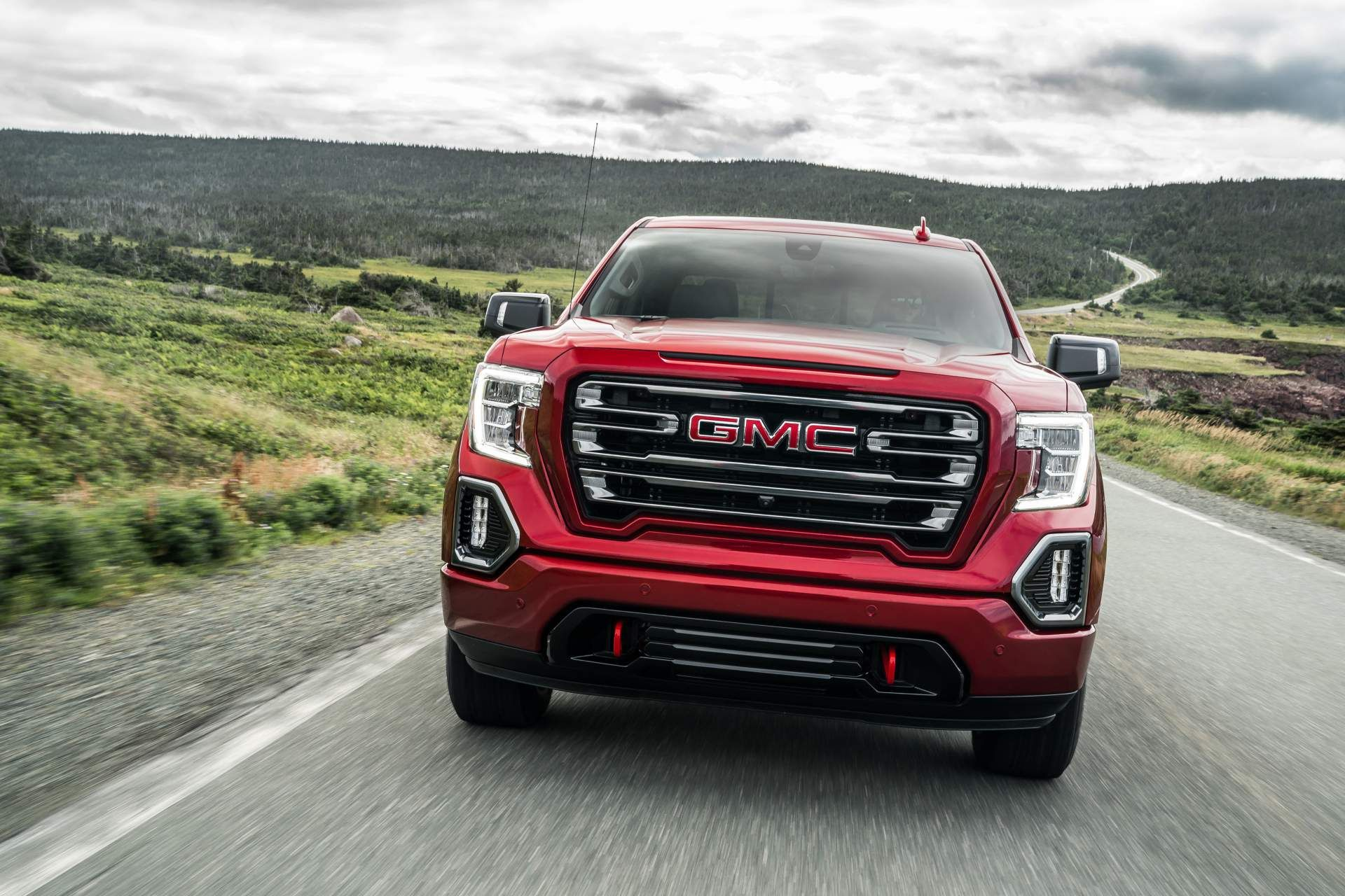 2019 Gmc Sierra At4 Off Road Performance Package Gains 435hp 6 2l V8 In 2020 Gmc Sierra Gmc Sierra 1500 American Pickup Trucks