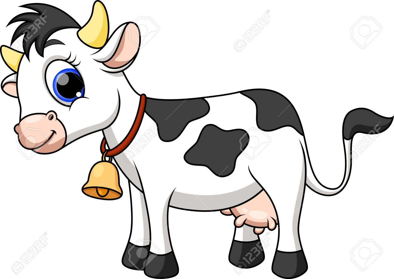 Cute Cow Cartoon Royalty Free Cliparts, Vectors, And Stock ...