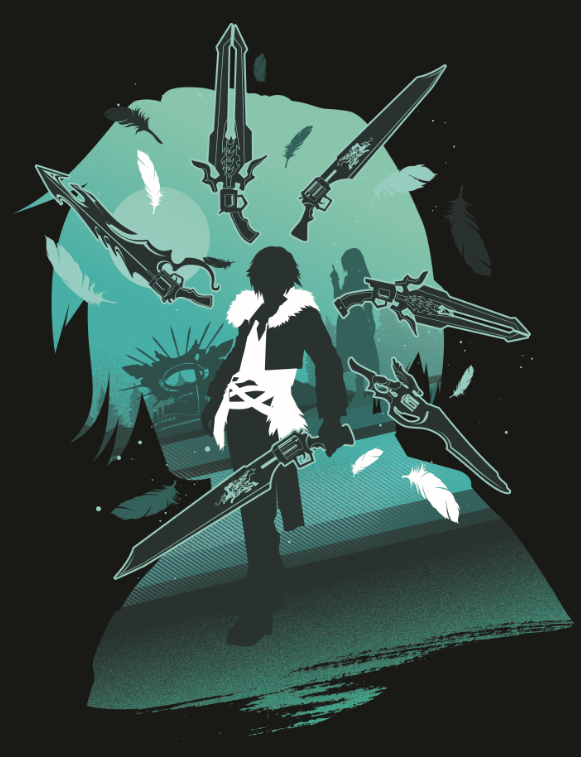 Final Fantasy VIII - Protagonist - Squall | Displate thumbnail