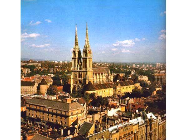 Zagreb Croatia Beautiful Croatia Tourist Zagreb