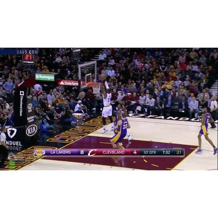 The Cavs beat the Lakers tonight 119-108 and improve to 19-6. The King finished with 26 points (9-18) 7 rebounds and 9 assists. #dhtk #REPRE23NT #donthatetheking