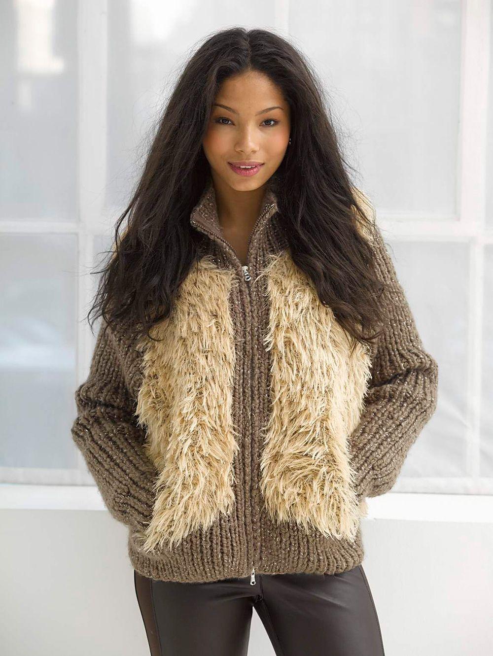 Ravelry: Modern Varsity Jacket pattern by Lion Brand Yarn