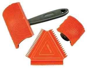 Wood Tools Tool Allway Gt3 Graining Kit New 3 Pc Set Simulate Paint Diy Design Wood Craft Supplies Faux Wood Wood