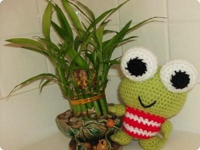 PATTERN: Green Frog Keroppi & Teru-teru by Irissesile [amigurumi ... | 300x400
