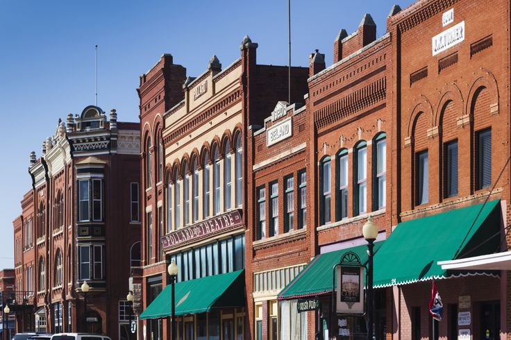 Oklahoma Guthrie Top Small Town For Antiquing More
