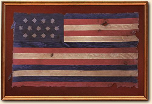 The Travels America S First Flags War Flag American War Of Independence Vintage American Flag