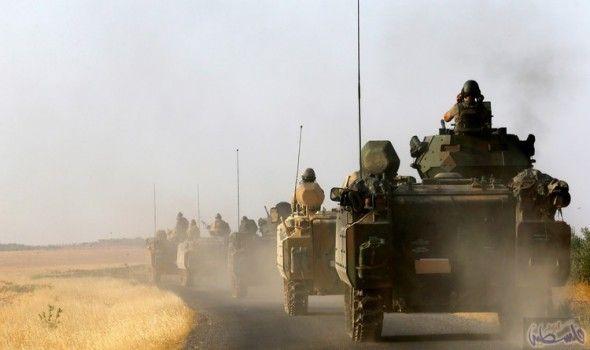 تركيا تفتح جبهة جديدة شمال سورية: عبرت قوات تركية مدعومة بدبابات الحدود إلى الاراضي السورية متوغلة في قرية الراعي شمال حلب، لتفتح أنقرة…