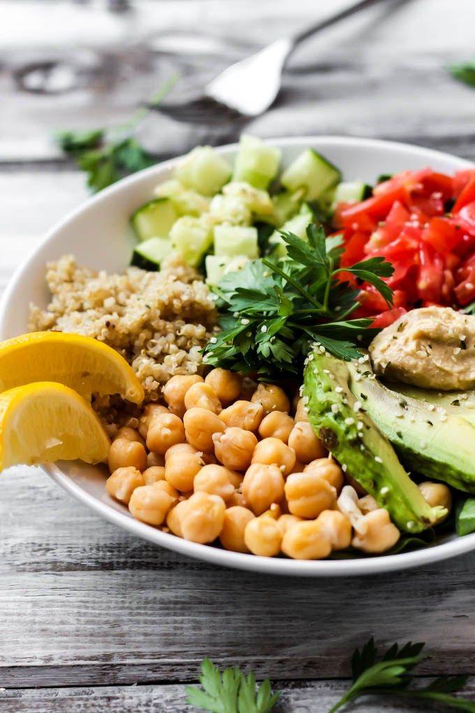 Greek Quinoa Buddha Bowl A Special Announcement