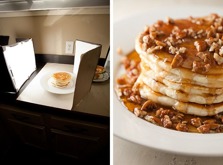 diy lighting setup for food photography -- $10 for supplies! @Amber (Smart as a Whisk) awesome, right?