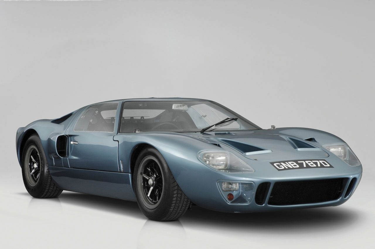Ford GT40. Personal taste, of course, but I\'m not sure there\'s ever ...