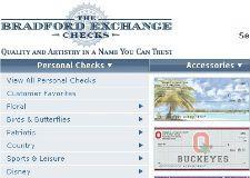 Bradford Exchange Checks Offers Designer Personal Checks Featuring Exclusive Art And Designs You Can Get Designer Check Bradford Exchange Checks Coding Checks