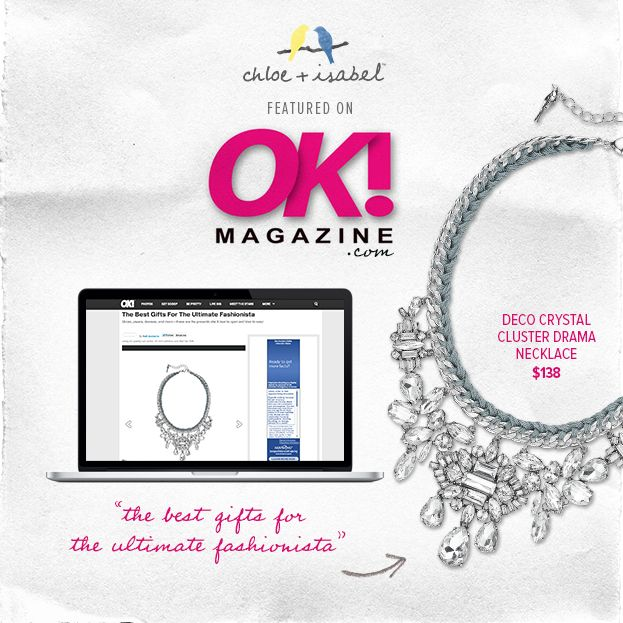 C i featured on okmagazine com december 2013 www chloeandisabel com