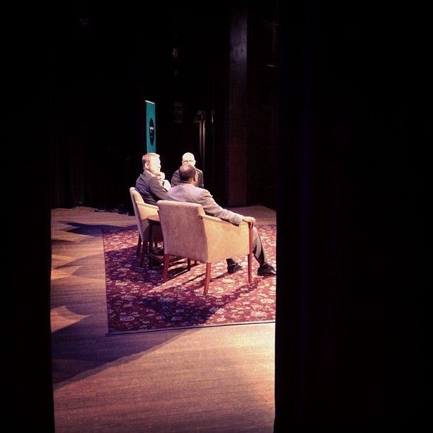 MT @UNDP: #SGSglobal #backstage picture: @ItsPetergabriel & @Rasiej speaking about Internet freedom