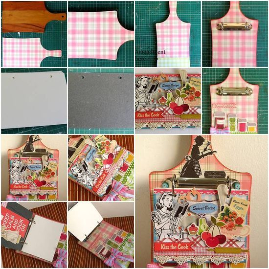 How To Make Creative Handmade Cookbook Step By DIY Tutorial Instructions