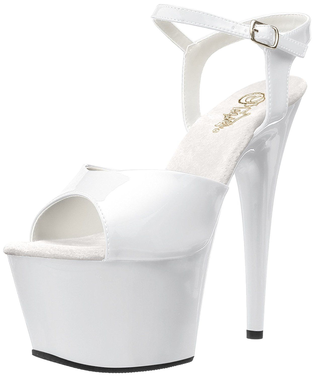 Pleaser Women's Adore-709/W/M Platform Sandal * Learn more by visiting the image link.