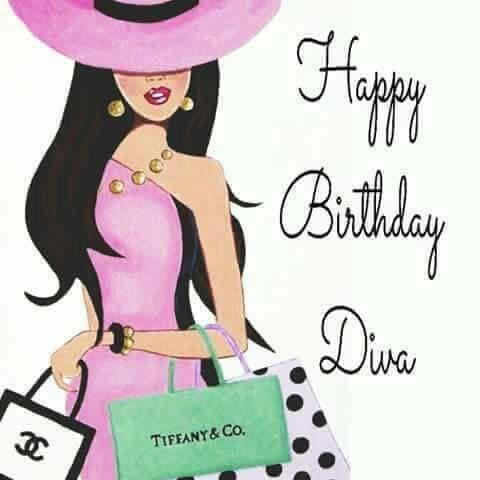 Happy birthday Diva Happy birthday woman, Happy birthday