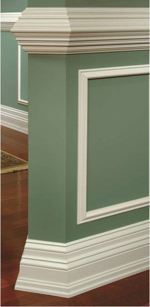 Types Of Moulding Types Of Moulding Lowes I Definitely Want New Baseboards After We Moldings And Trim House Trim Chic Dining Room