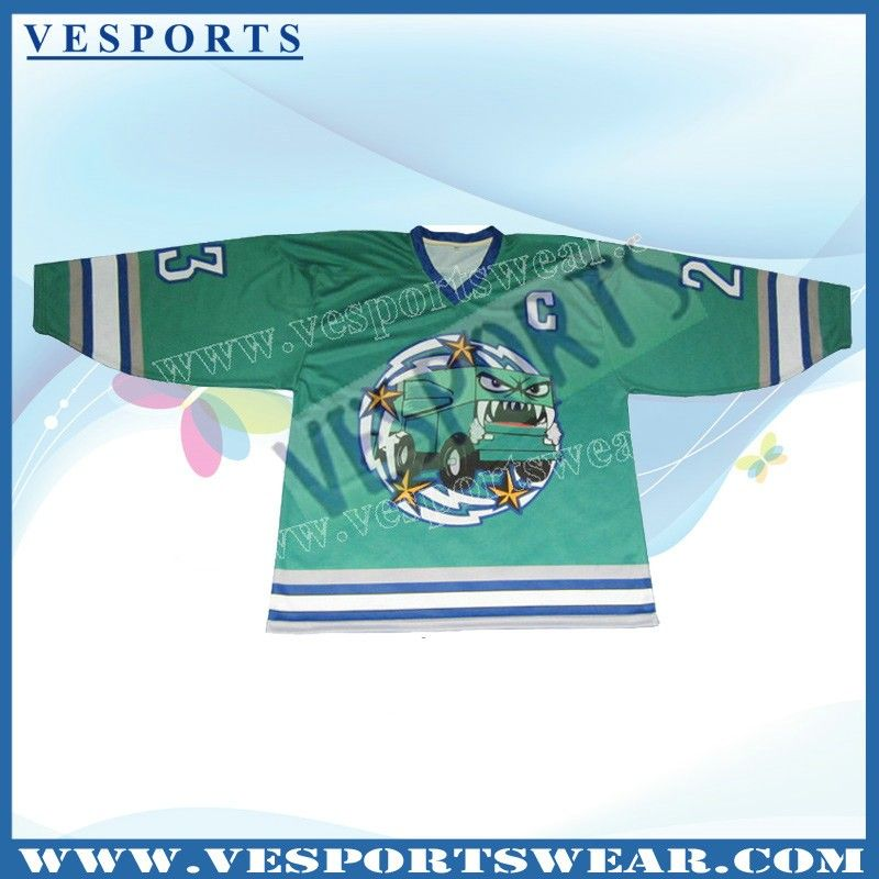2013 sports team wear mens 5XL ice hockey shirt,ice hockey wear