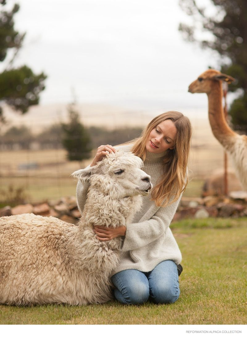 Reformation Founder Talks New Alpaca Sweater Collection (Exclusive)