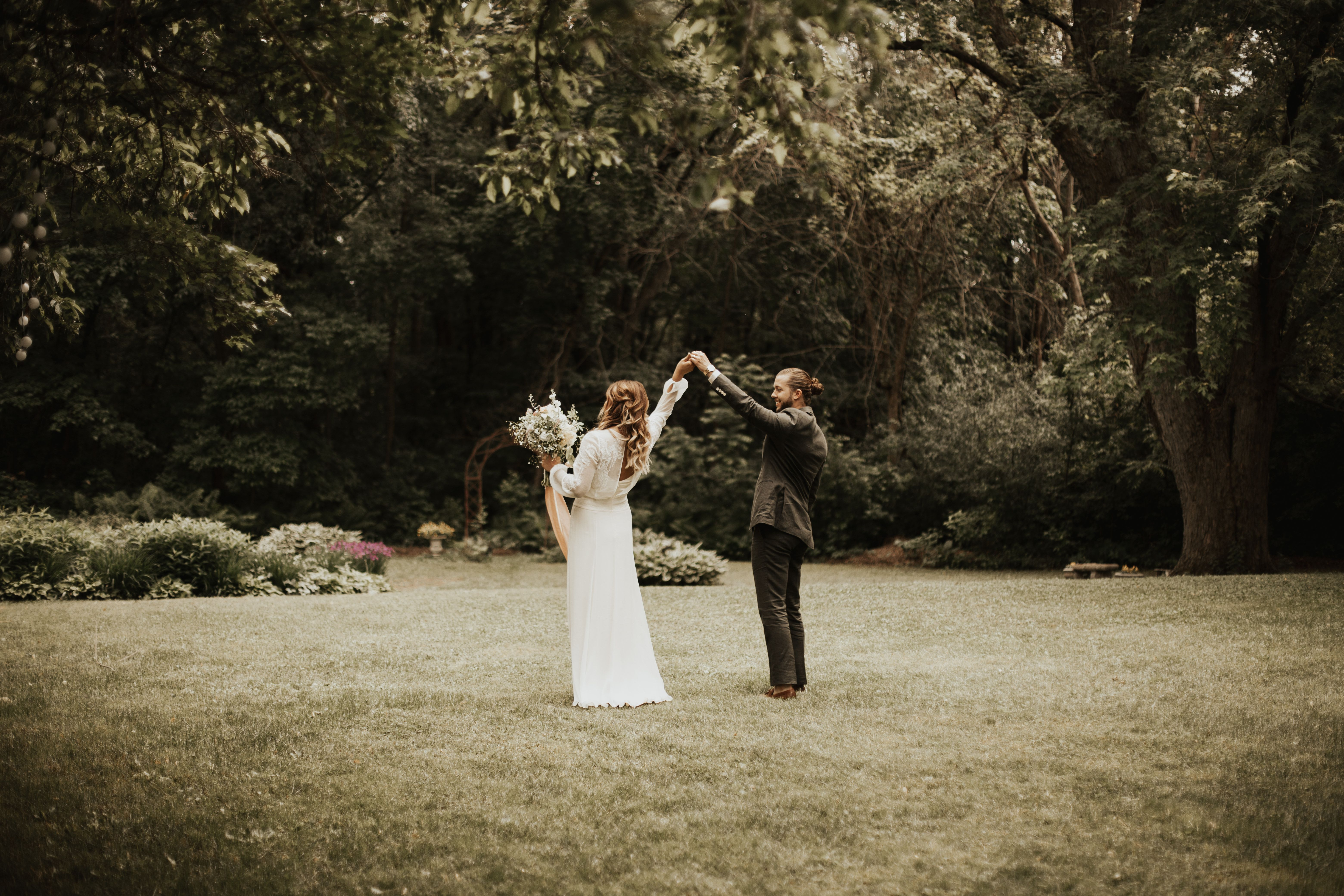 Vt long sleeve edwardian inspired wedding dress in